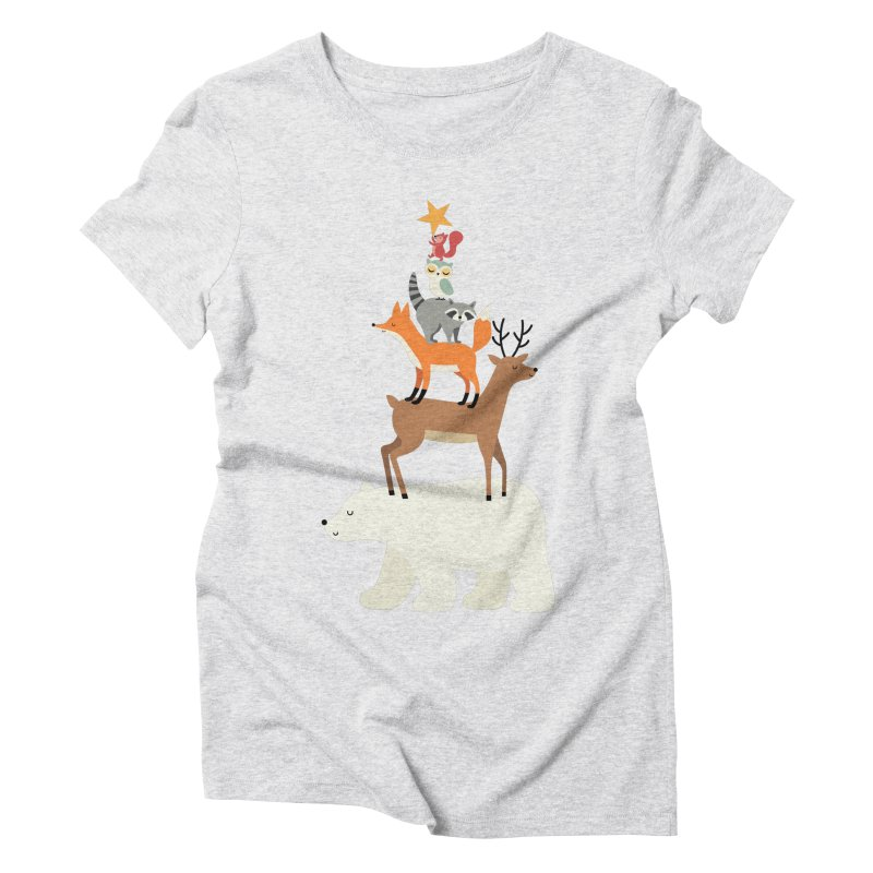 Picking Stars Women's Triblend T-Shirt by andywestface's Artist Shop