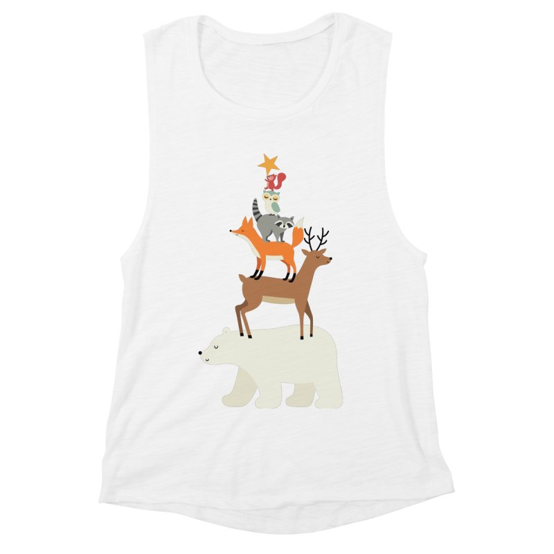 Picking Stars Women's Muscle Tank by andywestface's Artist Shop