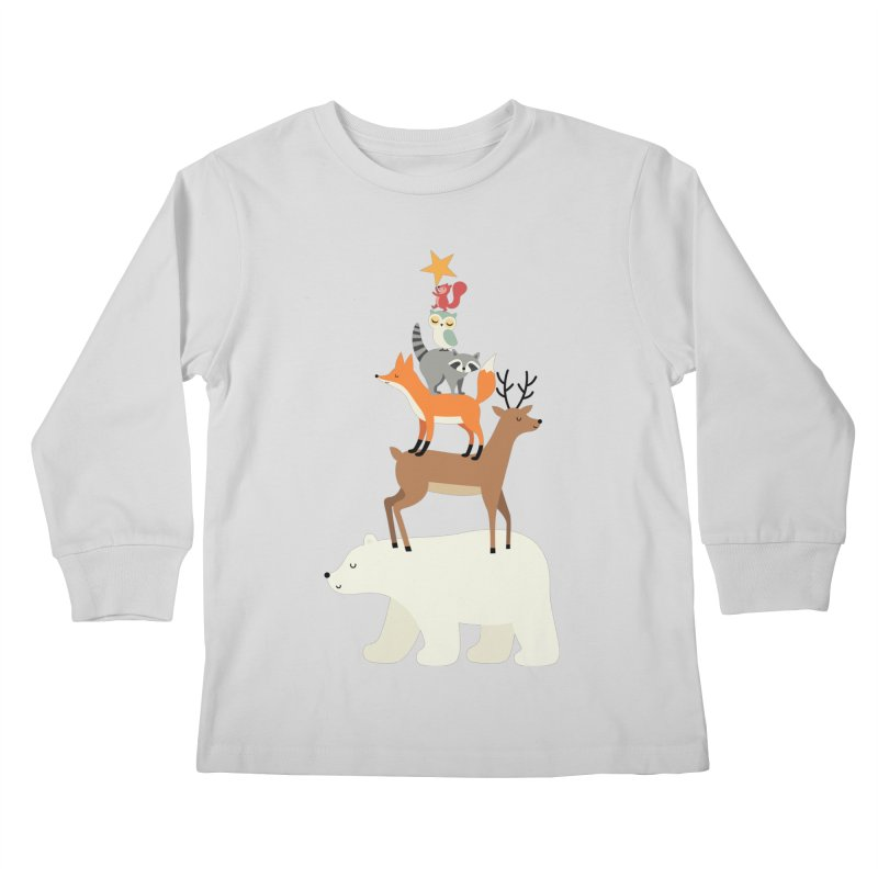 Picking Stars Kids Longsleeve T-Shirt by andywestface's Artist Shop