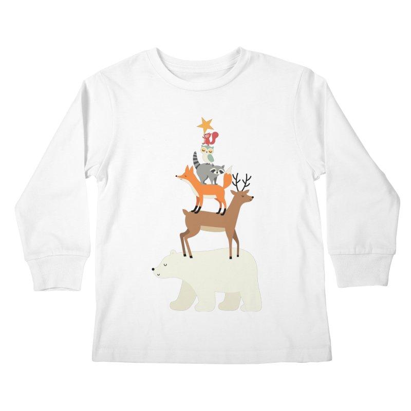 Picking Stars Kids Longsleeve T-Shirt by andywestface's Artist Shop