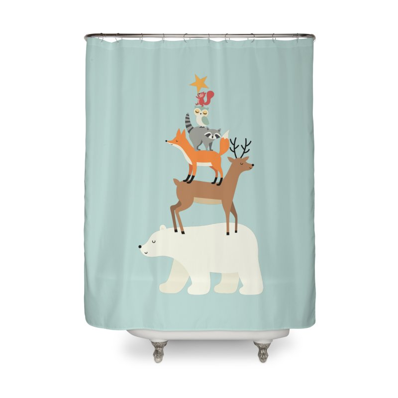 Picking Stars Home Shower Curtain by andywestface's Artist Shop