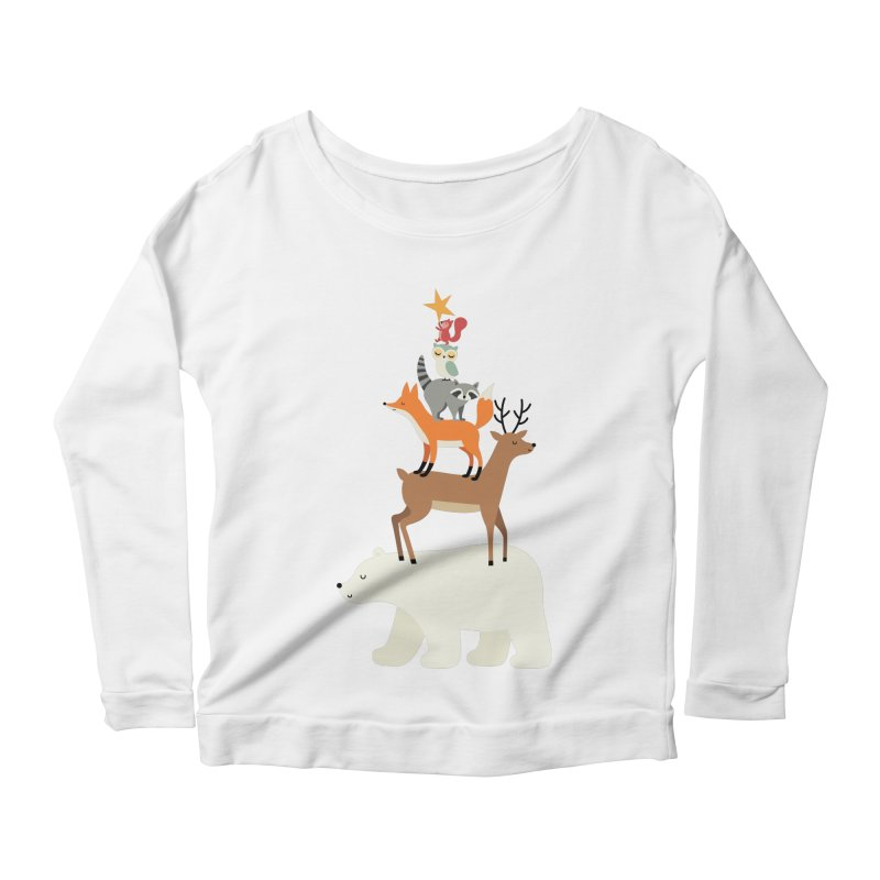 Picking Stars Women's Scoop Neck Longsleeve T-Shirt by andywestface's Artist Shop