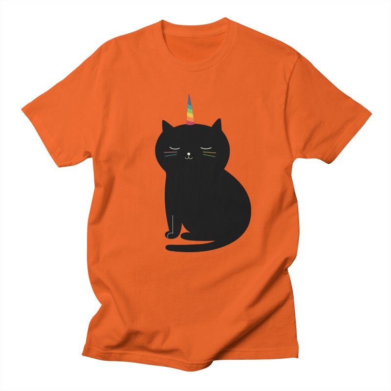 Caticorn Men's T-shirt by andywestface's Artist Shop