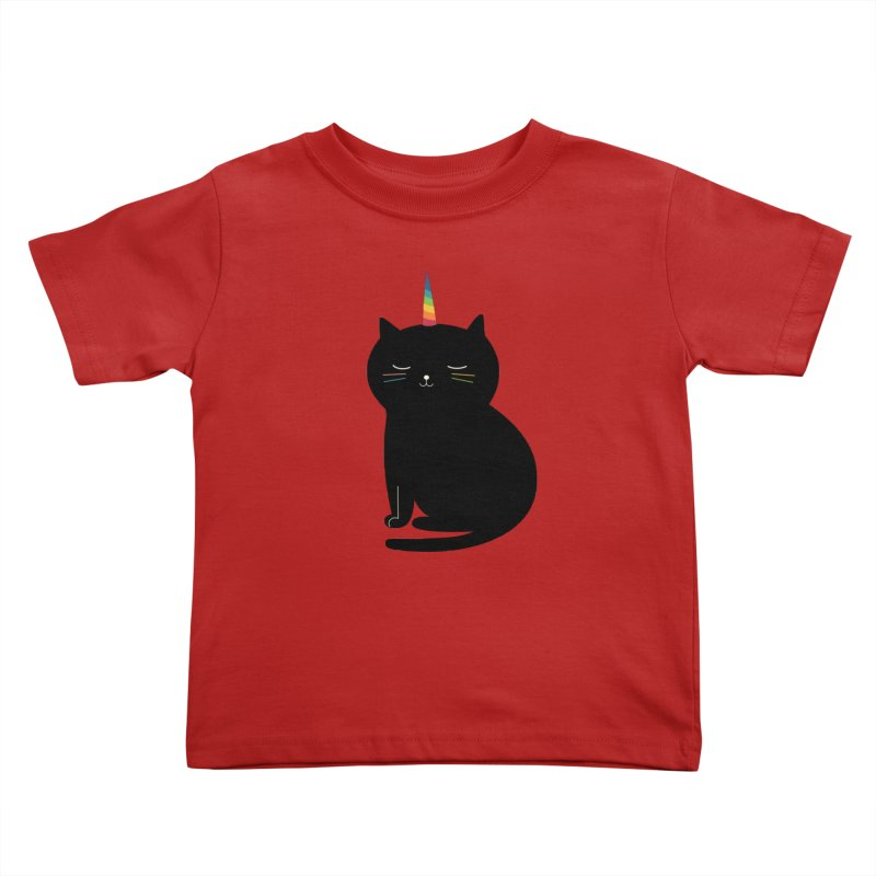 Caticorn Kids Toddler T-Shirt by andywestface's Artist Shop