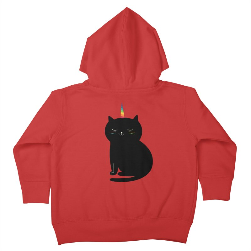 Caticorn Kids Toddler Zip-Up Hoody by andywestface's Artist Shop