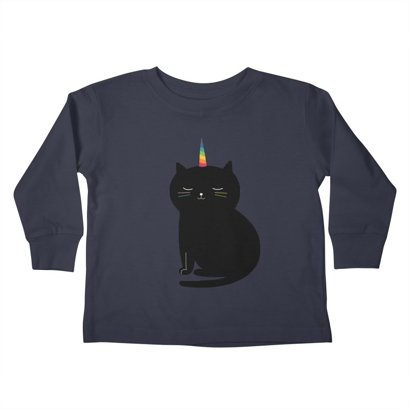 Caticorn Kids Toddler Longsleeve T-Shirt by andywestface's Artist Shop