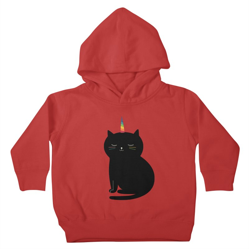 Caticorn Kids Toddler Pullover Hoody by andywestface's Artist Shop