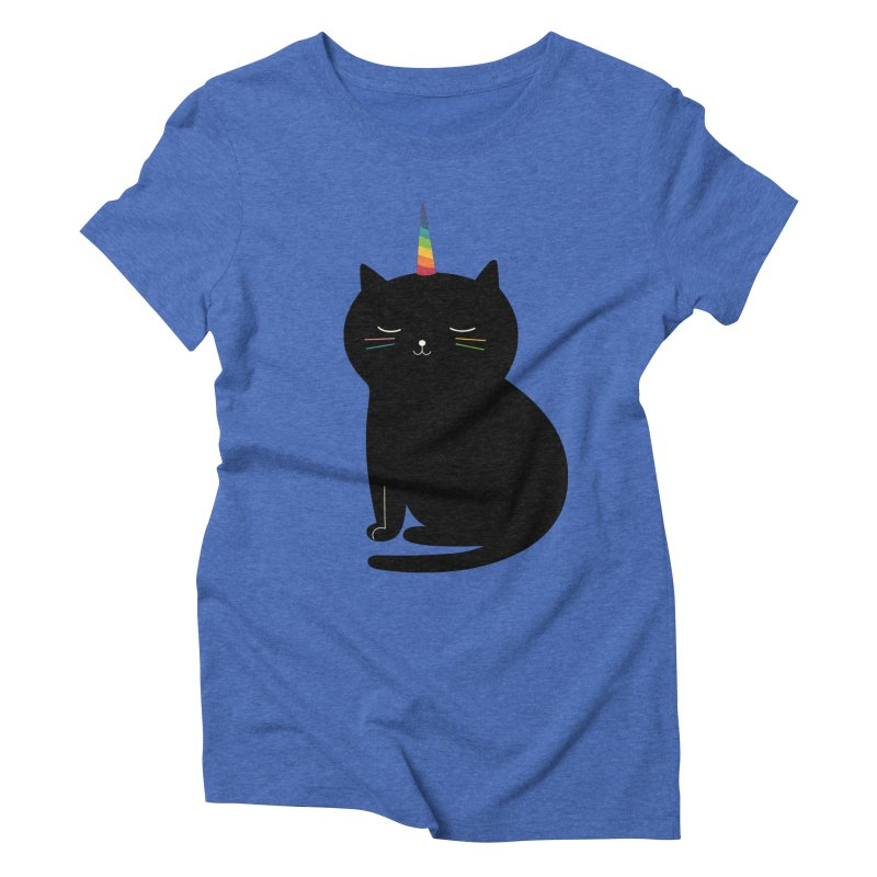 Caticorn Women's Triblend T-Shirt by andywestface's Artist Shop