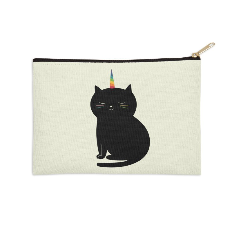 Caticorn Accessories Zip Pouch by andywestface's Artist Shop