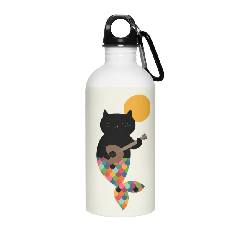 Purrmaid Accessories Water Bottle by andywestface's Artist Shop