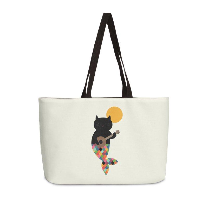 Purrmaid Accessories Weekender Bag Bag by andywestface's Artist Shop