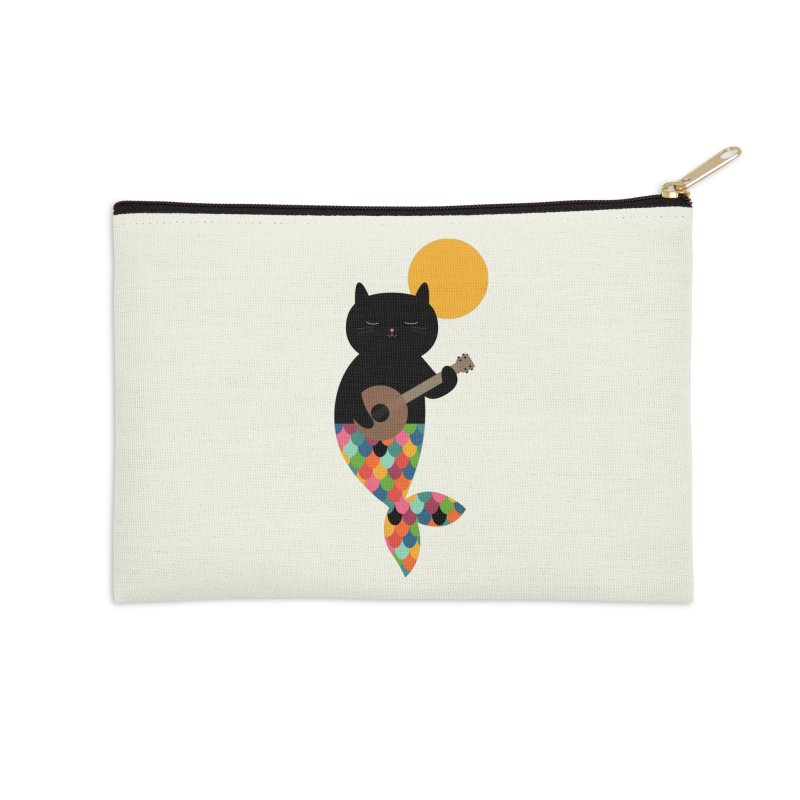 Purrmaid Accessories Zip Pouch by andywestface's Artist Shop