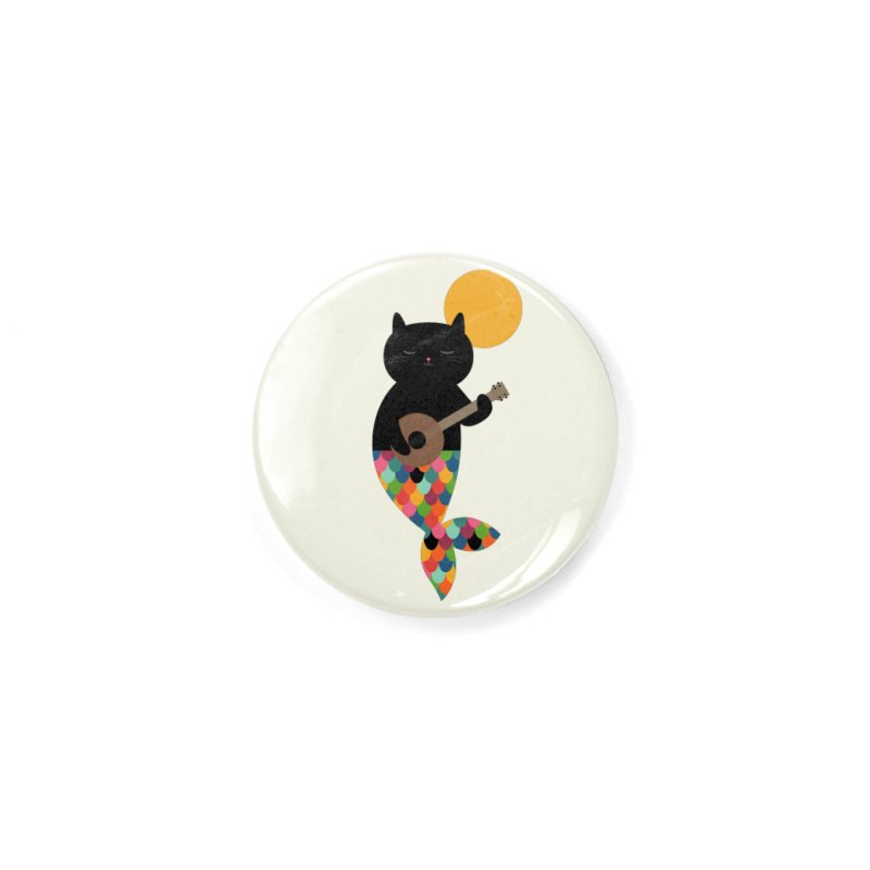 Purrmaid Accessories Button by andywestface's Artist Shop