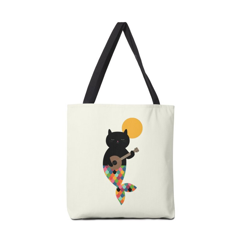 Purrmaid Accessories Tote Bag Bag by andywestface's Artist Shop