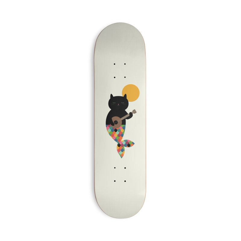 Purrmaid Accessories Deck Only Skateboard by andywestface's Artist Shop