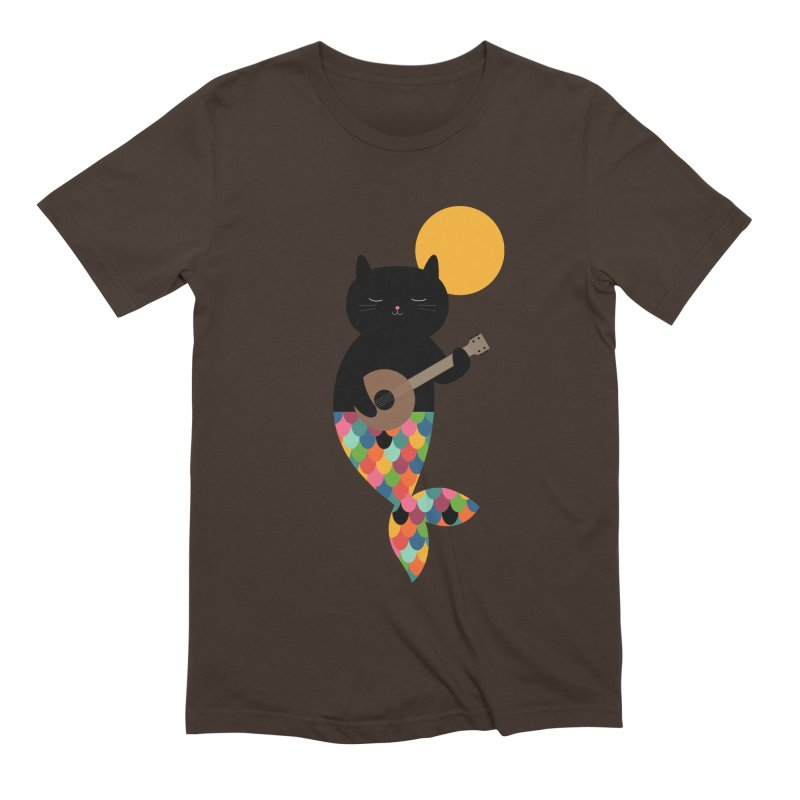 Purrmaid Men's Extra Soft T-Shirt by andywestface's Artist Shop