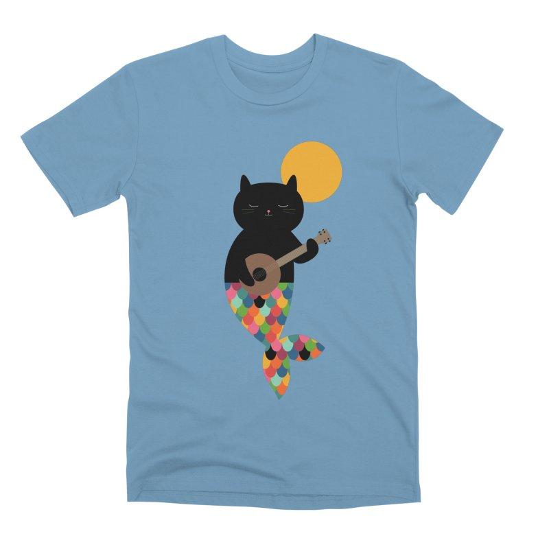 Purrmaid Men's Premium T-Shirt by andywestface's Artist Shop