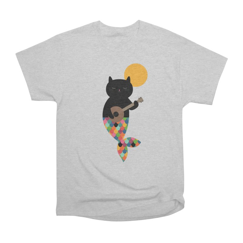Purrmaid Women's Heavyweight Unisex T-Shirt by andywestface's Artist Shop