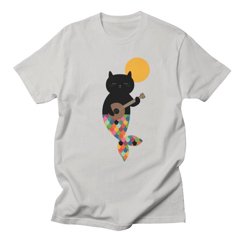 Purrmaid Women's Regular Unisex T-Shirt by andywestface's Artist Shop