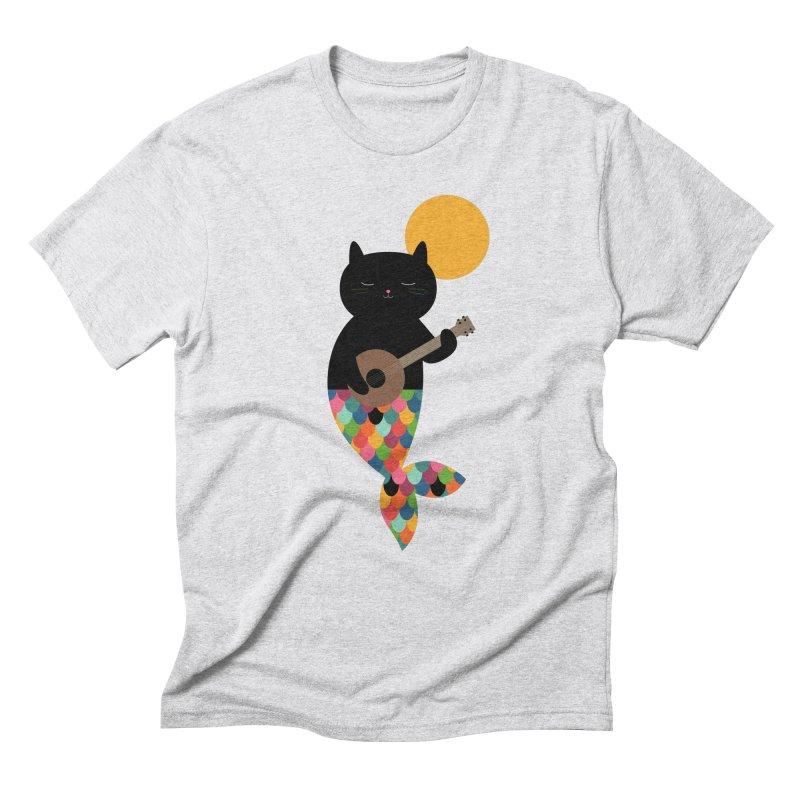 Purrmaid Men's Triblend T-Shirt by andywestface's Artist Shop