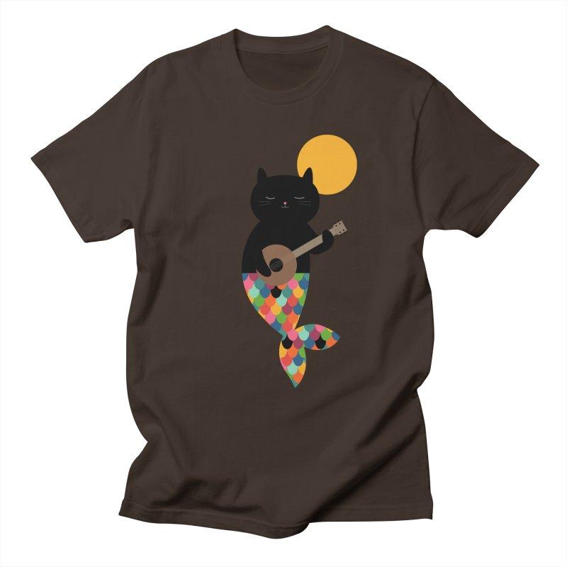 Purrmaid Men's Regular T-Shirt by andywestface's Artist Shop