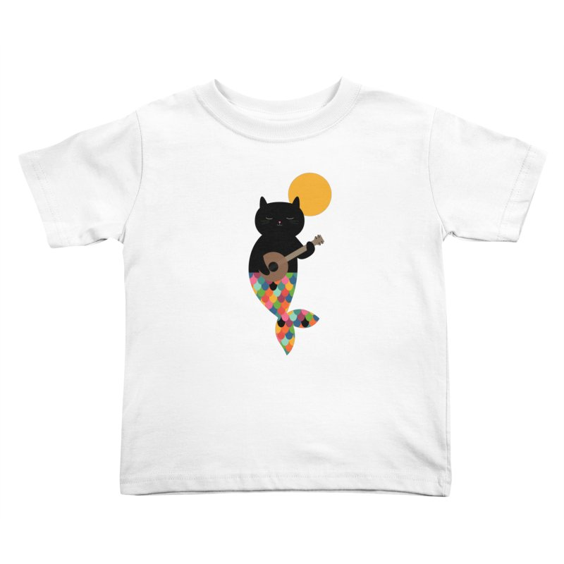 Purrmaid Kids Toddler T-Shirt by andywestface's Artist Shop