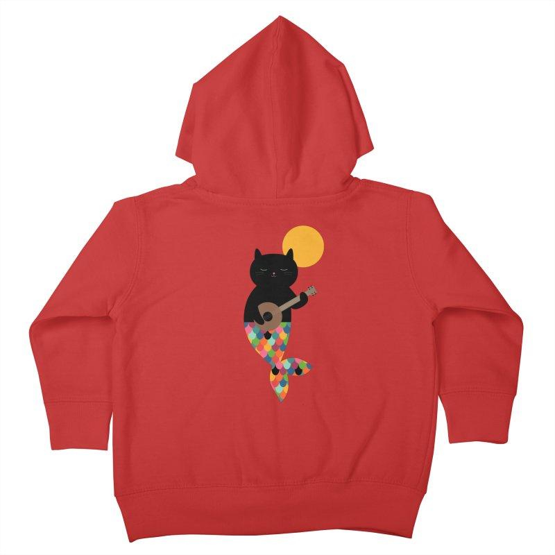 Purrmaid Kids Toddler Zip-Up Hoody by andywestface's Artist Shop