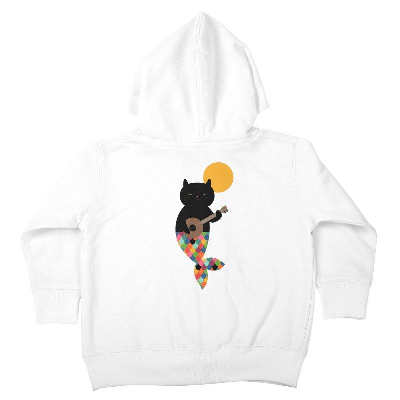 Purrmaid Kids Toddler Zip-Up Hoody by andywestface's Artist Shop
