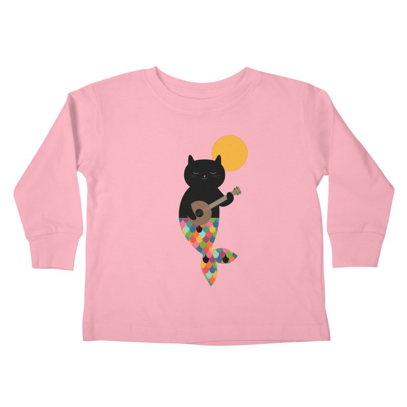 Purrmaid Kids Toddler Longsleeve T-Shirt by andywestface's Artist Shop