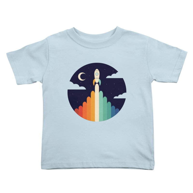 Up Kids Toddler T-Shirt by andywestface's Artist Shop