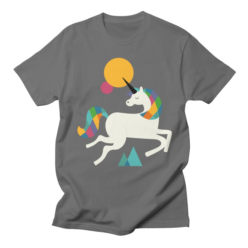 To Be A Unicorn Men's T-Shirt by andywestface's Artist Shop