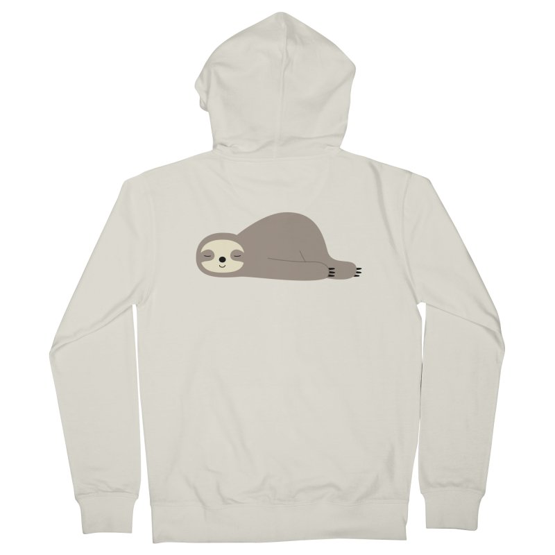 Do Nothing Women's Zip-Up Hoody by andywestface's Artist Shop