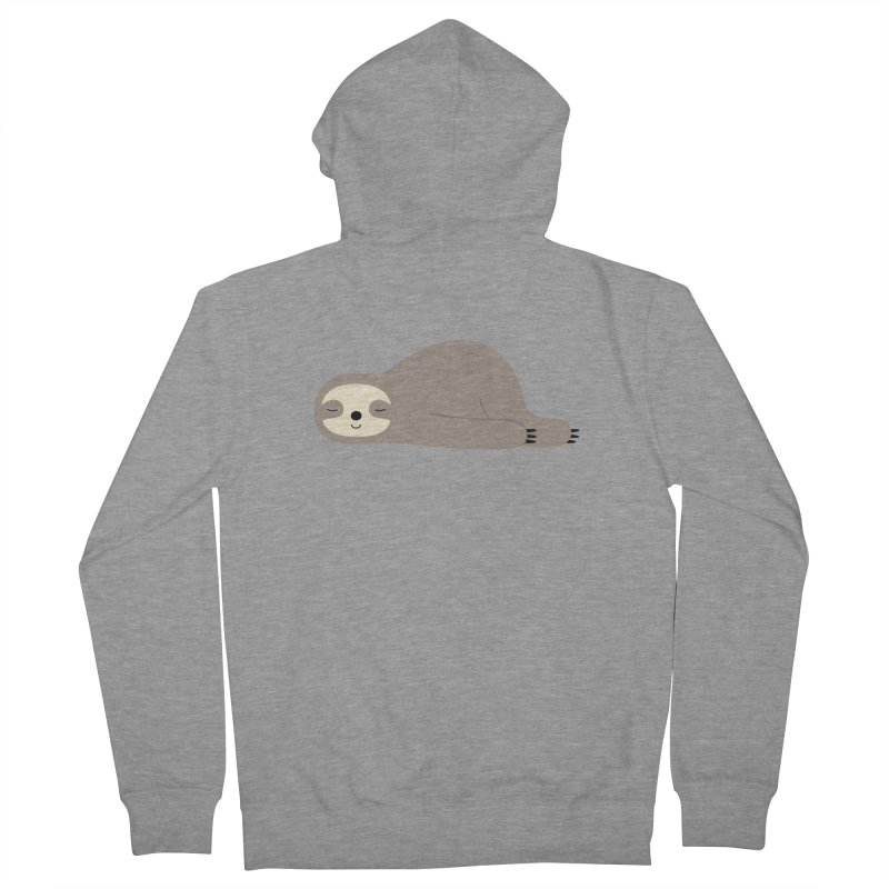 Do Nothing Men's Zip-Up Hoody by andywestface's Artist Shop