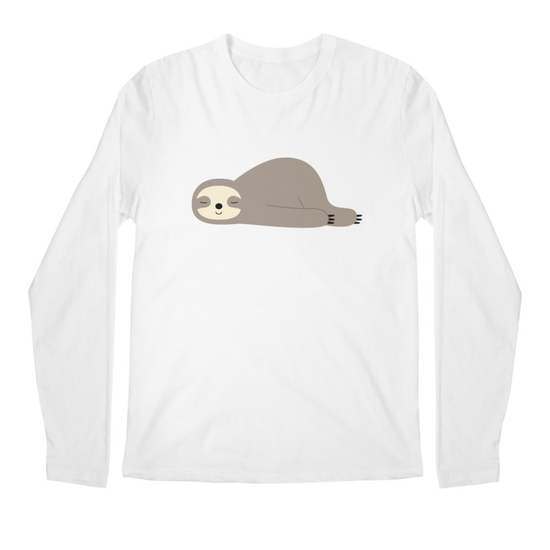 Do Nothing Men's Longsleeve T-Shirt by andywestface's Artist Shop