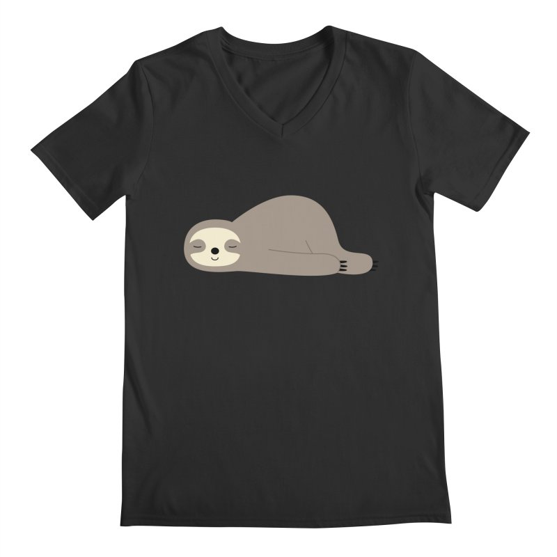 Do Nothing Men's V-Neck by andywestface's Artist Shop