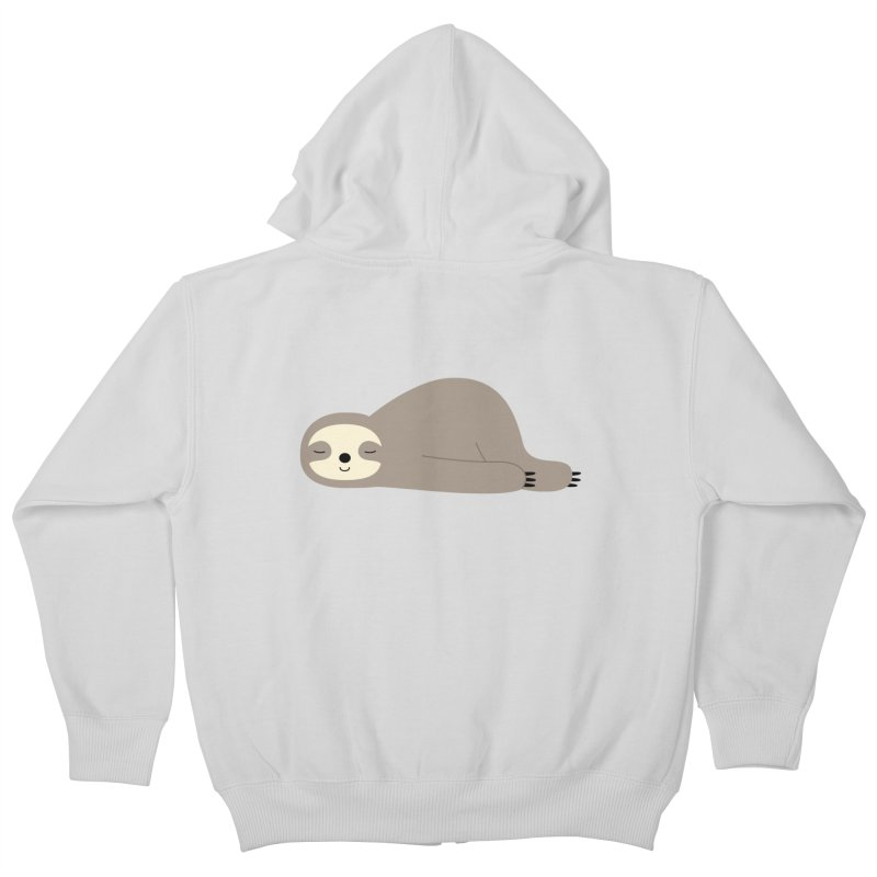 Do Nothing Kids Zip-Up Hoody by andywestface's Artist Shop