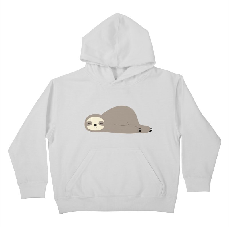Do Nothing Kids Pullover Hoody by andywestface's Artist Shop