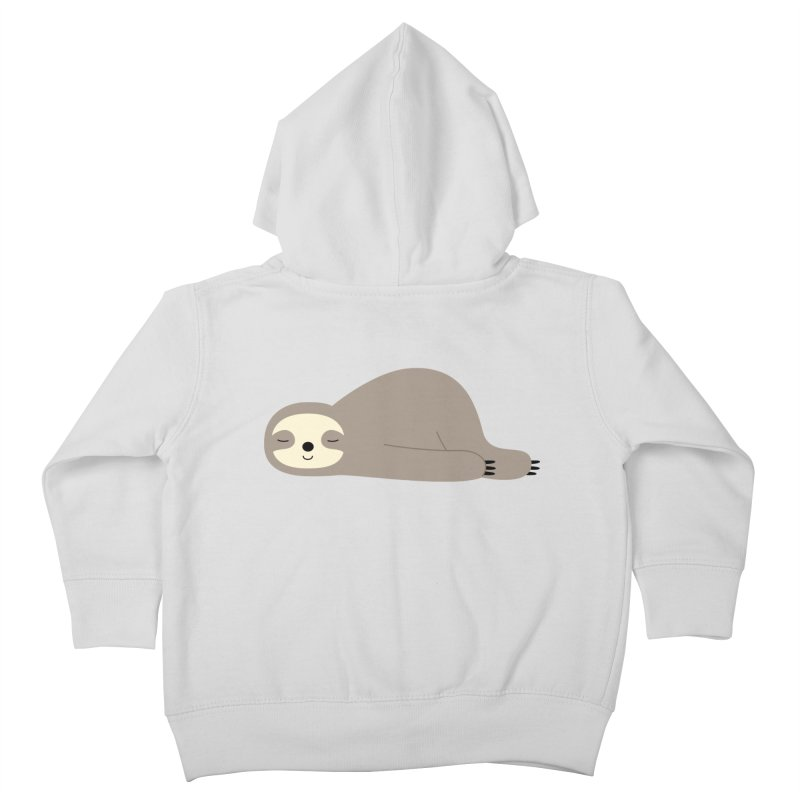 Do Nothing Kids Toddler Zip-Up Hoody by andywestface's Artist Shop