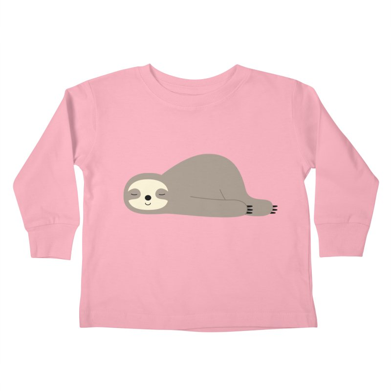 Do Nothing Kids Toddler Longsleeve T-Shirt by andywestface's Artist Shop