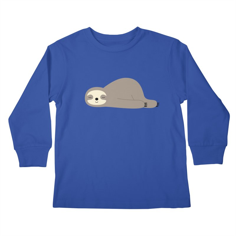 Do Nothing Kids Longsleeve T-Shirt by andywestface's Artist Shop