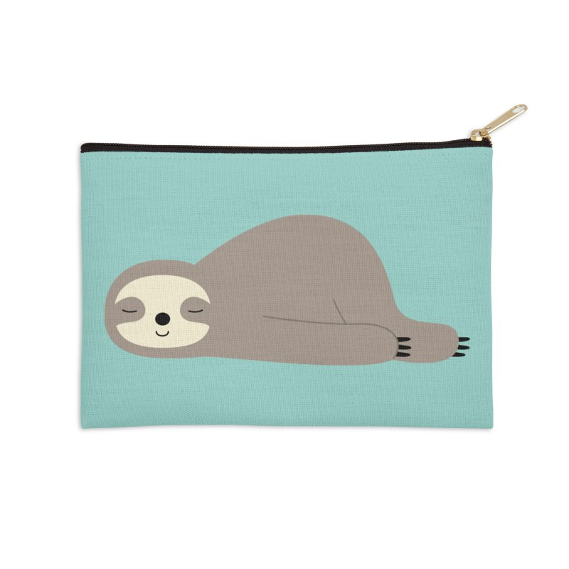 Do Nothing Accessories Zip Pouch by andywestface's Artist Shop