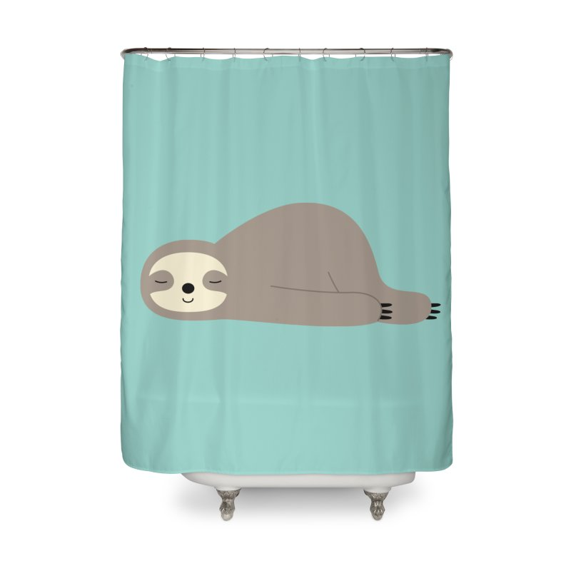 Do Nothing Home Shower Curtain by andywestface's Artist Shop