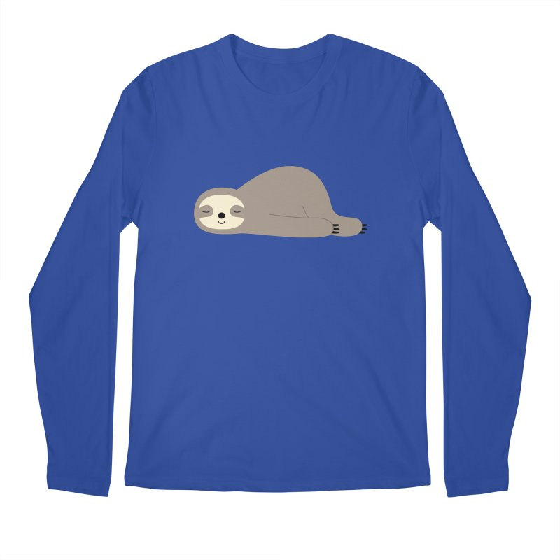 Do Nothing Men's Regular Longsleeve T-Shirt by andywestface's Artist Shop