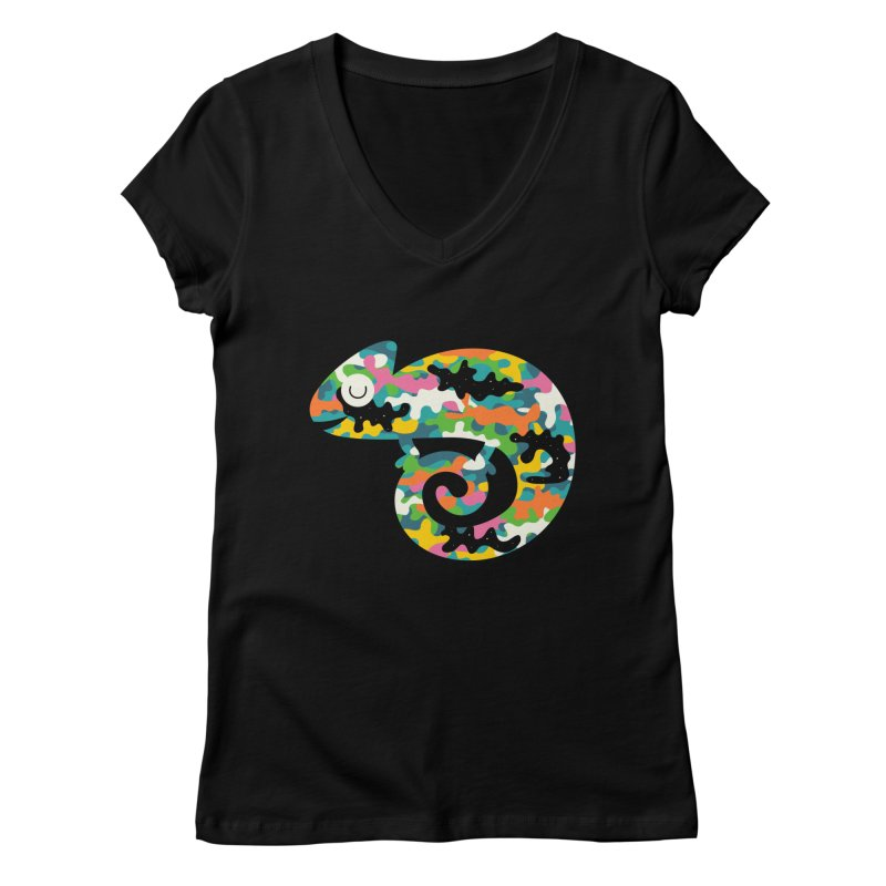 Alive Women's V-Neck by andywestface's Artist Shop