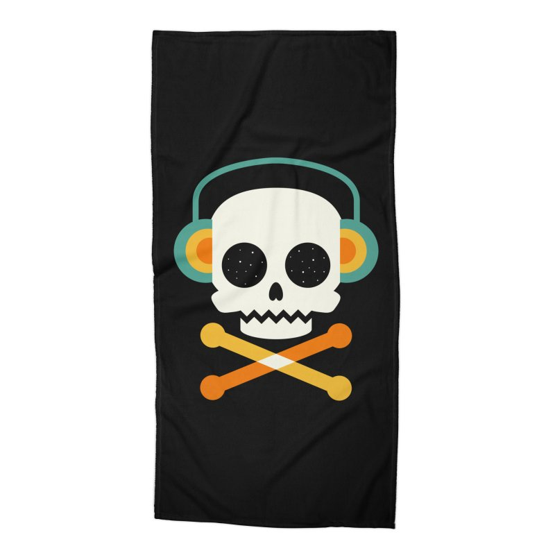 Life Is Cool Accessories Beach Towel by andywestface's Artist Shop