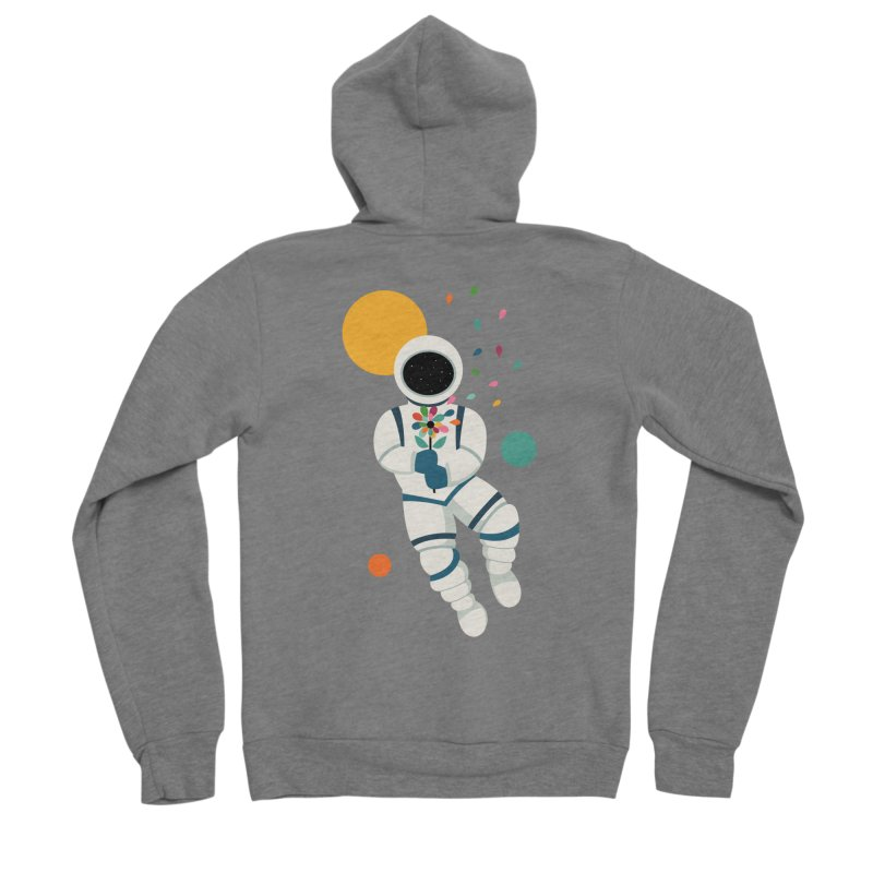 Last Beautiful Women's Zip-Up Hoody by andywestface's Artist Shop