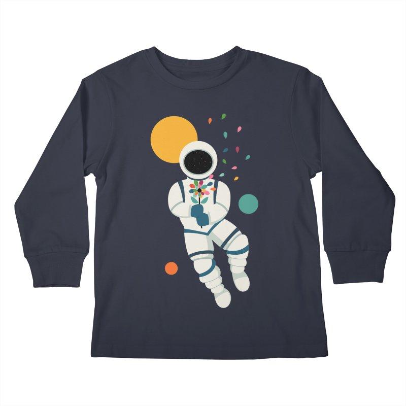 Last Beautiful Kids Longsleeve T-Shirt by andywestface's Artist Shop