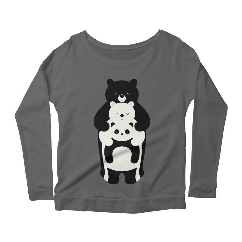 Family Portrait Women's Longsleeve T-Shirt by andywestface's Artist Shop