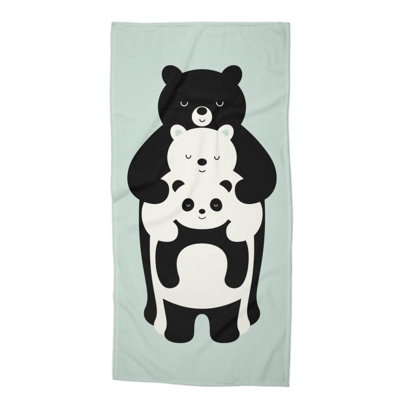 Family Portrait Accessories Beach Towel by andywestface's Artist Shop