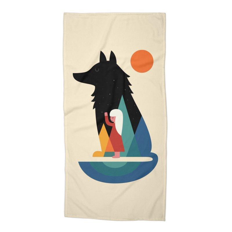 Best Friend Accessories Beach Towel by andywestface's Artist Shop